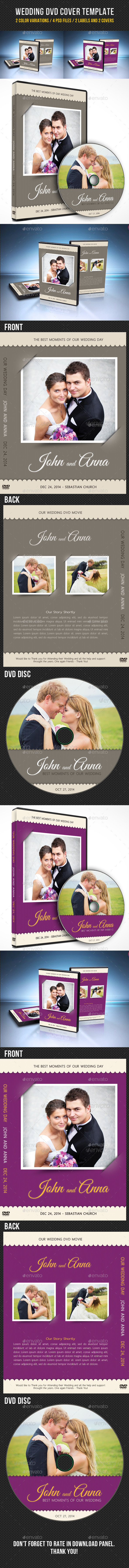 GraphicRiver Wedding DVD Cover Template 08 9095111