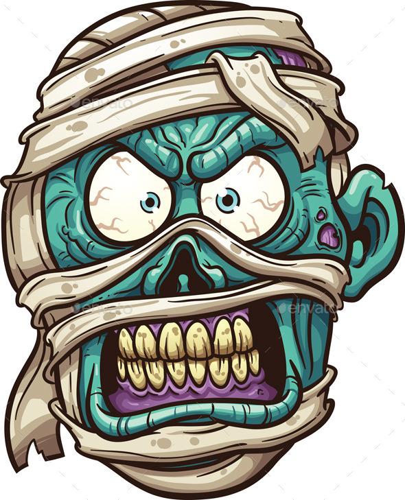 GraphicRiver Mummy Face 9095272