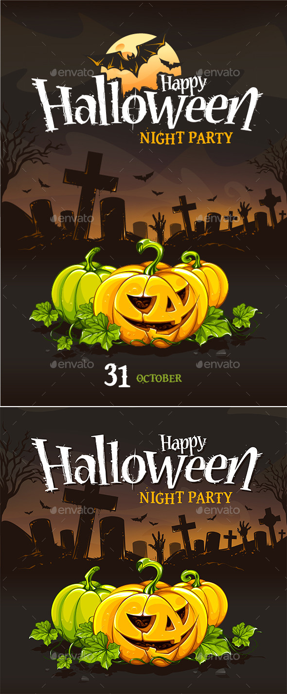 GraphicRiver Halloween Poster Templates 9088169