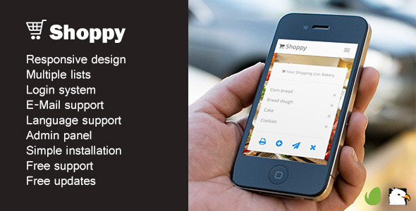 CodeCanyon Shoppy Online shopping list 8998422