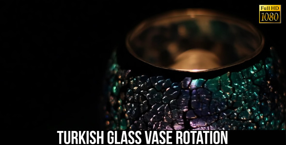 Turkish Glass Vase Rotation 2
