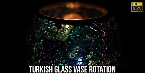 Turkish Glass Vase Rotation 3