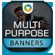Multi Purpose Banners - GraphicRiver Item for Sale