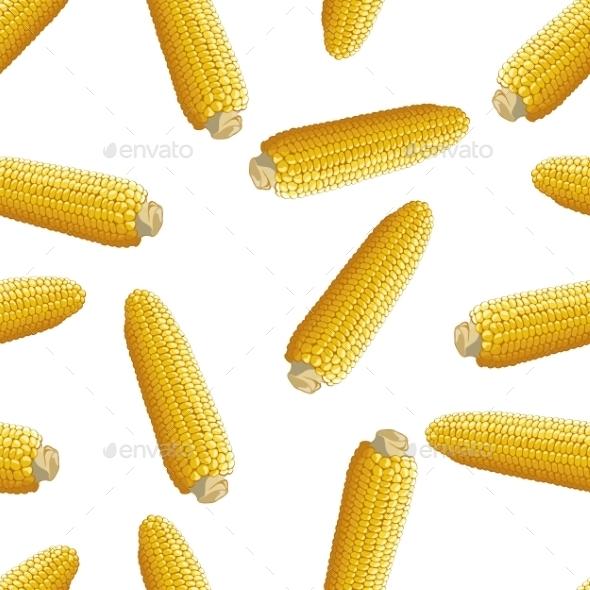 GraphicRiver Corn Vector Seamless Pattern 9096846
