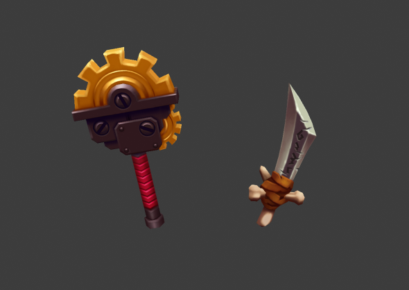 3DOcean Fantasy Weapons 9096865
