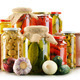 Composition with jars of pickled vegetables. Marinated food - PhotoDune Item for Sale