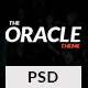 Magazine PSD Template - The Oracle