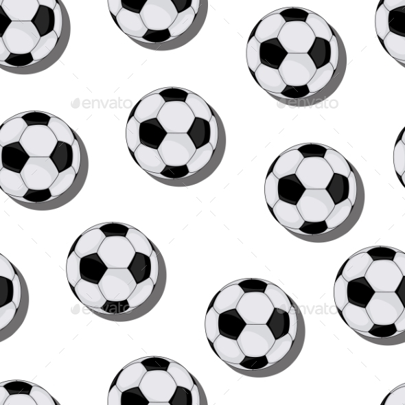 GraphicRiver Football Vector Seamless Pattern 9097825