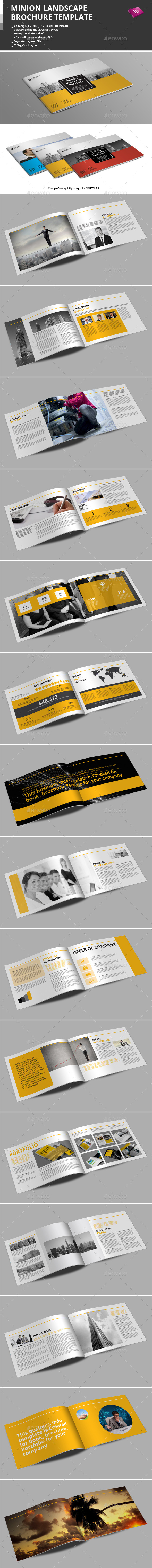 GraphicRiver Minion Landscape Brochure Templates 9097938