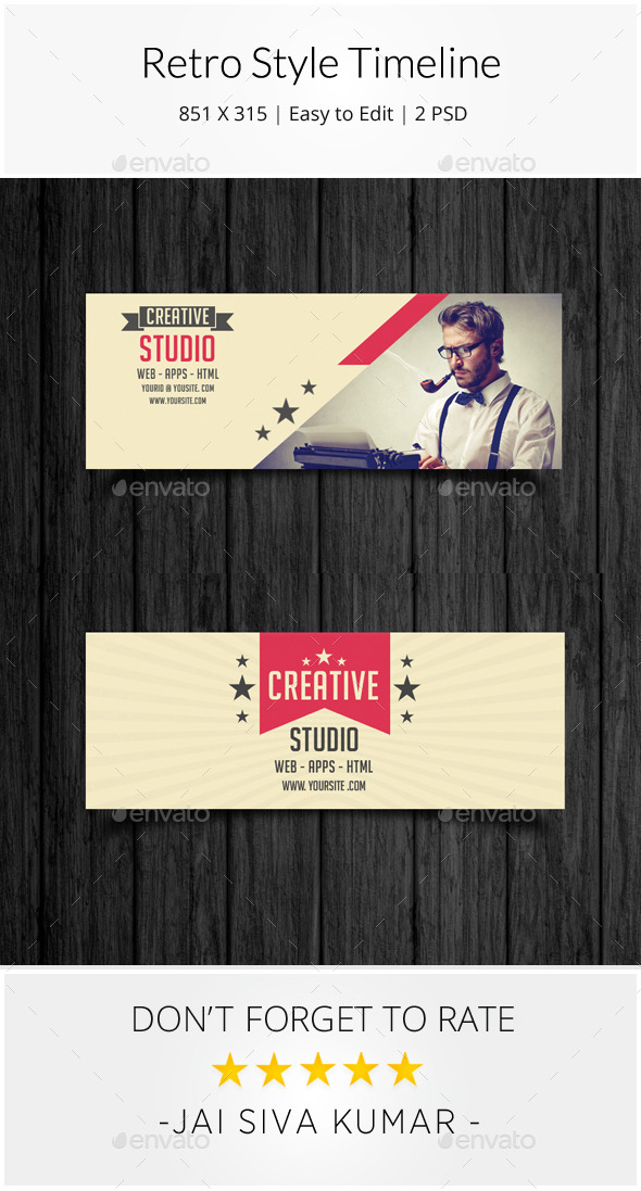 GraphicRiver Retro Style Corporate Timeline 9098194