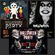 Halloween Party Flyer Bundle Vol. 3 - GraphicRiver Item for Sale