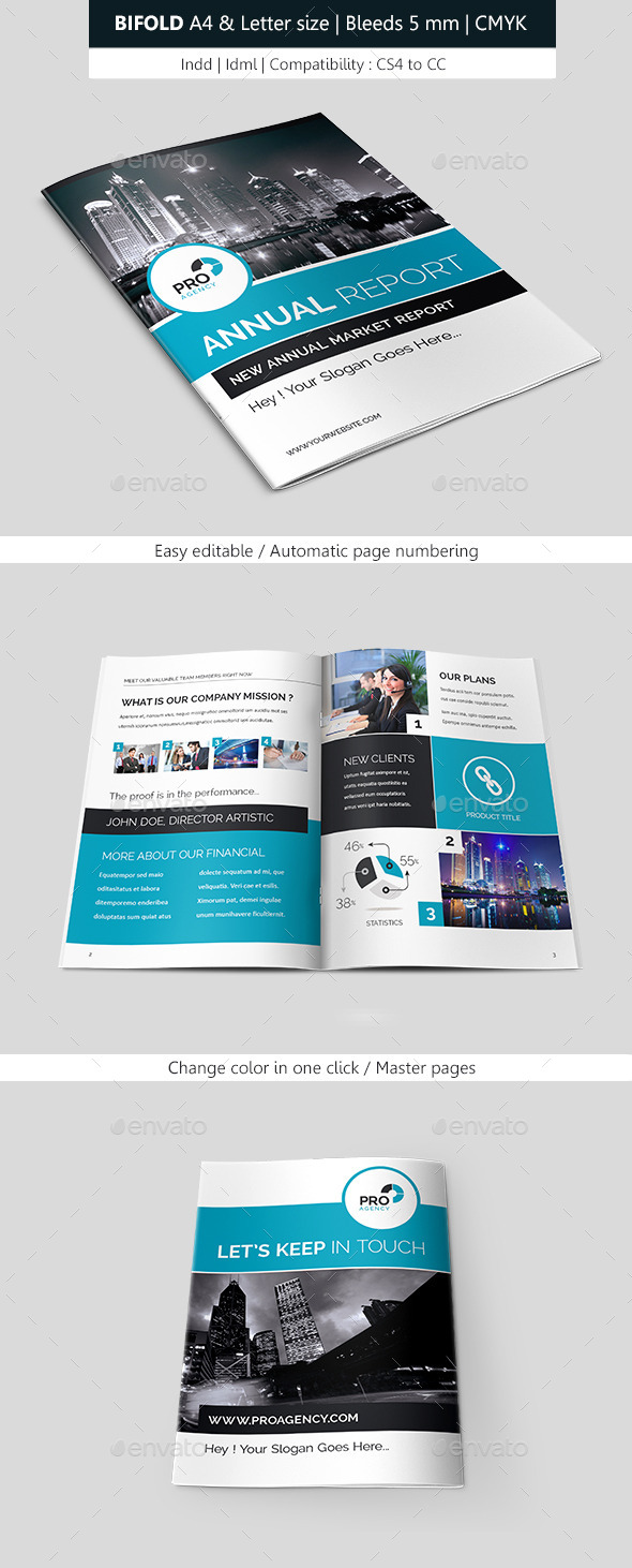GraphicRiver Business Brochure Template Bifold 9099138