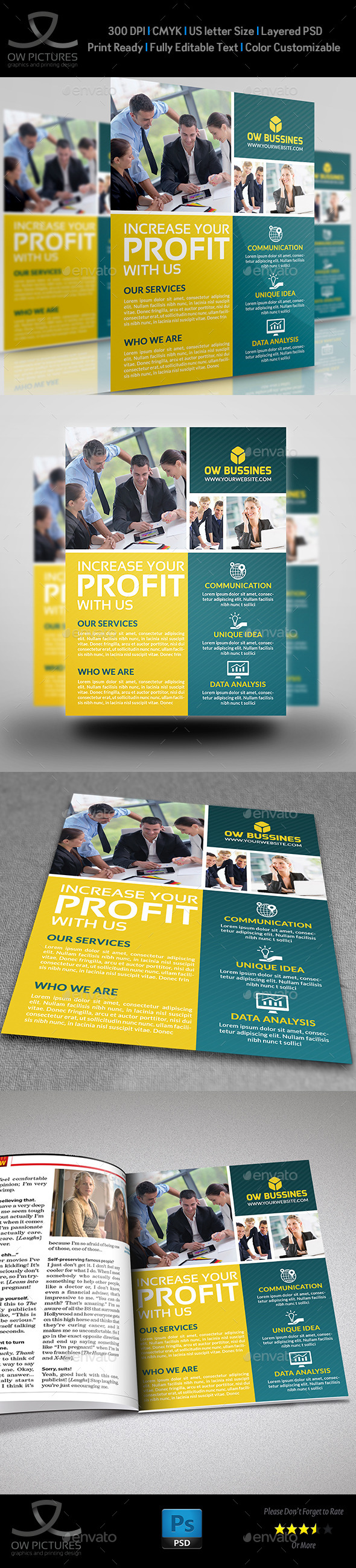 GraphicRiver Corporate Business Flyer Vol.14 9099160
