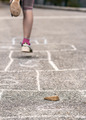 Child on the hopscotch - PhotoDune Item for Sale