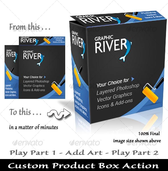 GraphicRiver Product Box Action 38134