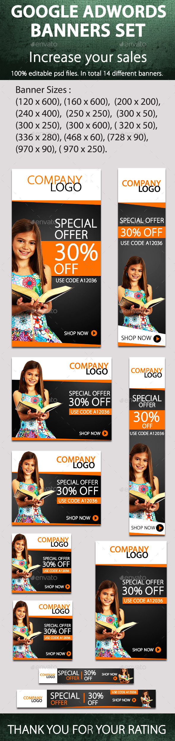 GraphicRiver Promotional Banners 9067284