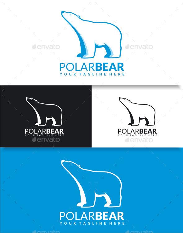 GraphicRiver Polar Bear Logo 9100191