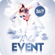 White Event Flyer/Poster - GraphicRiver Item for Sale