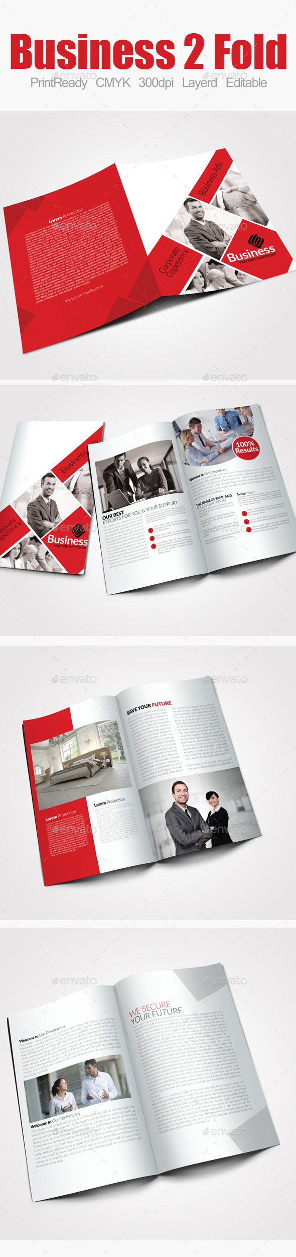 GraphicRiver Bi Fold Business Brochure 9100907