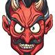 Devil Face - GraphicRiver Item for Sale