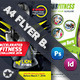 Fitness Flyer Bundle Templates - GraphicRiver Item for Sale