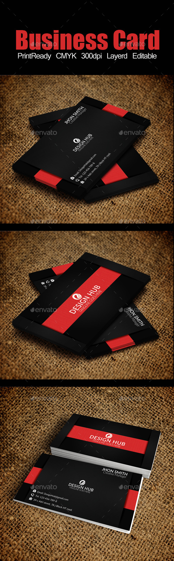 GraphicRiver Elegant Business Card 9101382
