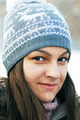 Teenage girl in winter cap - PhotoDune Item for Sale