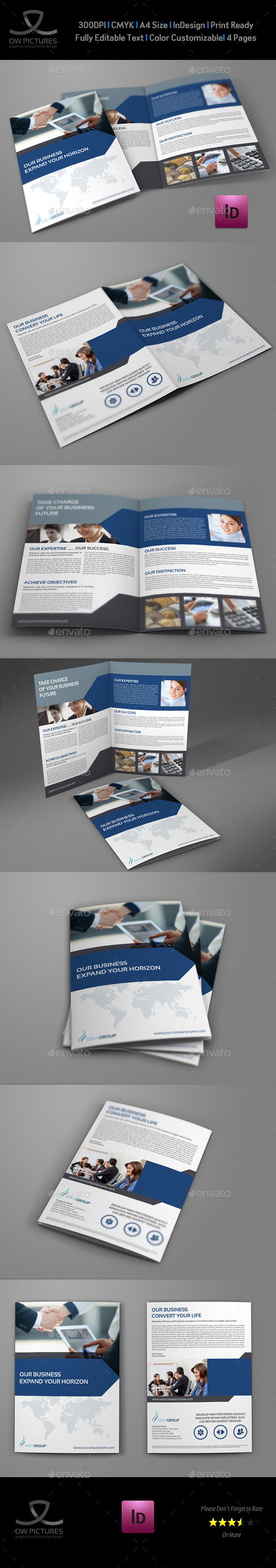 GraphicRiver Company Brochure Bi-Fold Template Vol.33 9101659