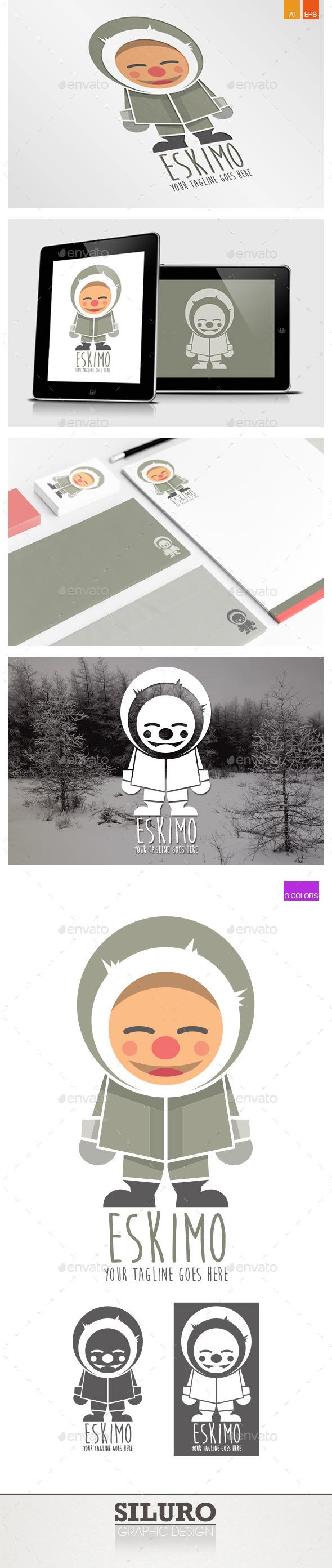 GraphicRiver Eskimo Logo 9090081