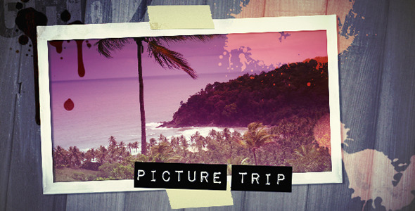 After Effects Project - VideoHive Picture Trip 54332