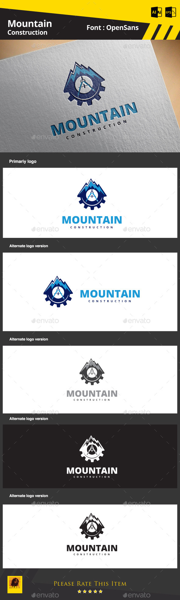GraphicRiver Mountain Construction 9101973