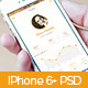 iPhone 6+ Majenga Flat App Design - GraphicRiver Item for Sale