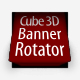 Cube 3D Banner Rotator XML - ActiveDen Item for Sale
