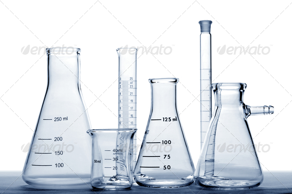 Laboratory Equipment in Science Research Lab - Stock Photo - Images