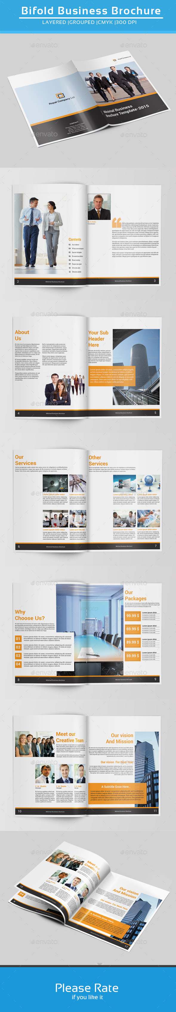 GraphicRiver Indesign Business Brochure-V143 9102905