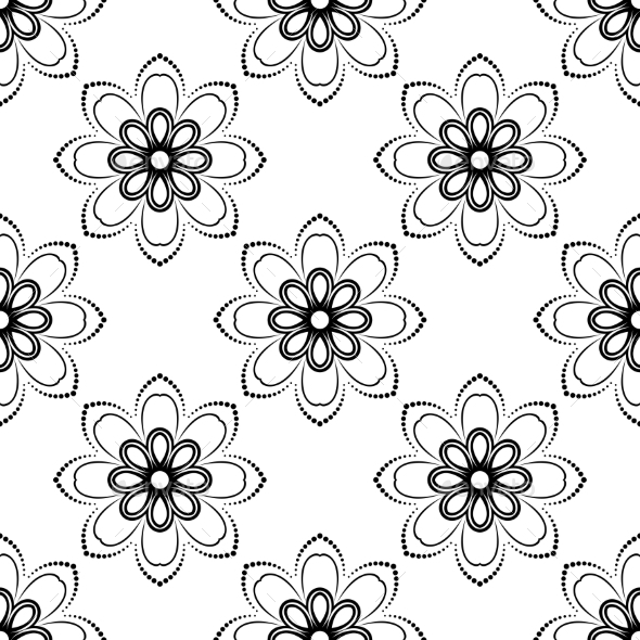 GraphicRiver Orient Seamless Vector Pattern Abstract Background 9102912