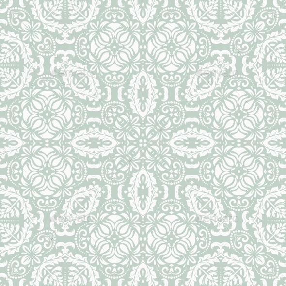 GraphicRiver Orient Seamless Vector Pattern Abstract Background 9102916