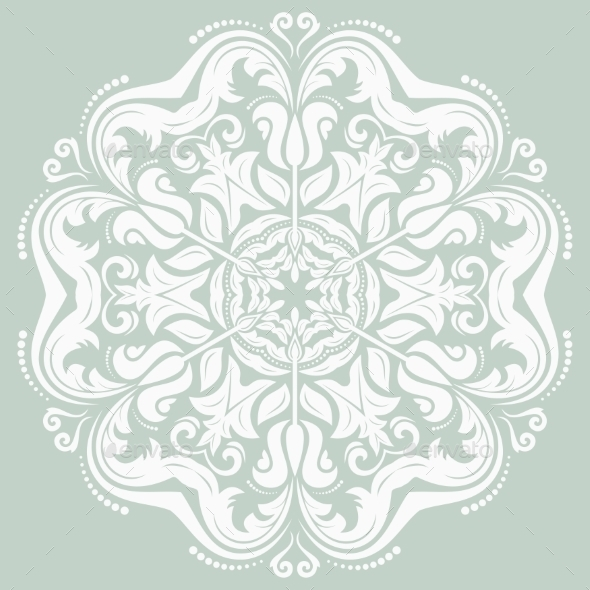 Orient Pattern Abstract Background
