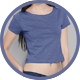 Woman Crop Top Mockup