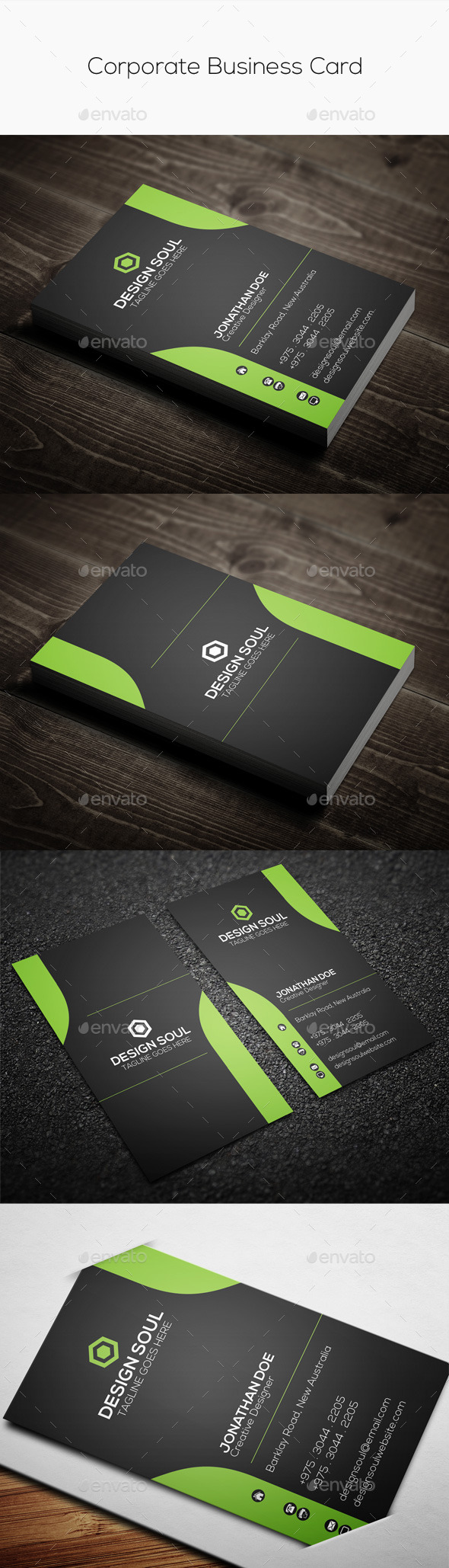 GraphicRiver Creative Corporate Business Card 9104728