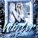 Winter Glam Flyer Template - GraphicRiver Item for Sale