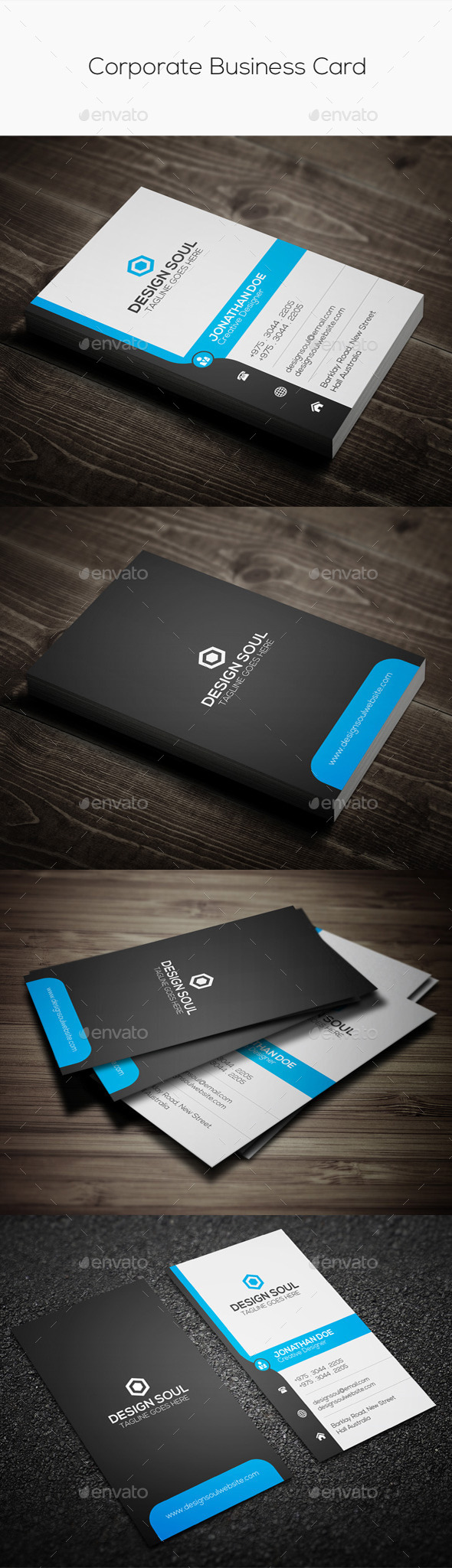GraphicRiver Corporate Business Card 9104809