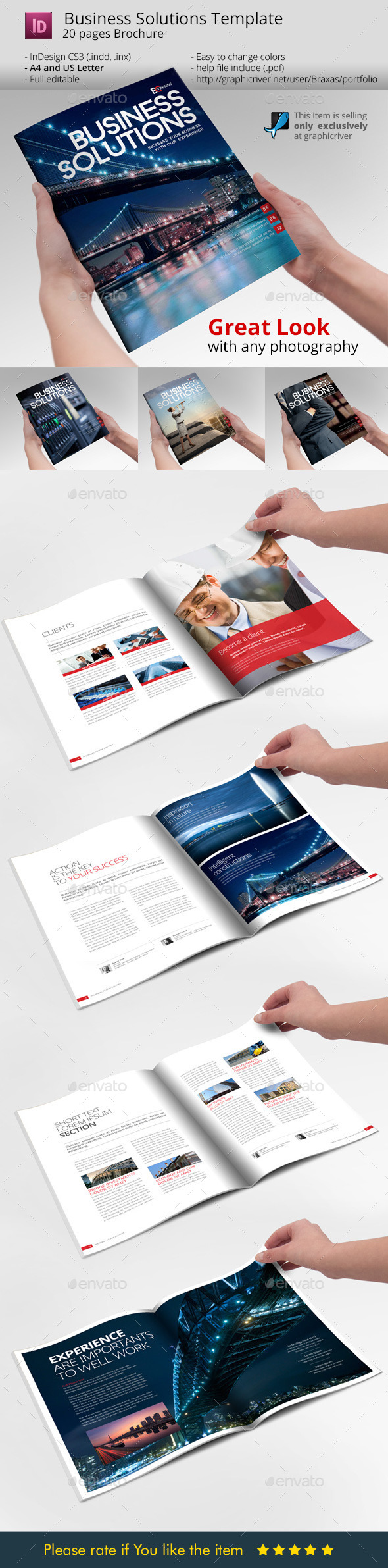 GraphicRiver Business Solution Template Brochure 9104876