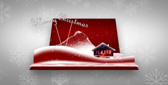 After Effects Project - VideoHive 3D Christmas Card 930272