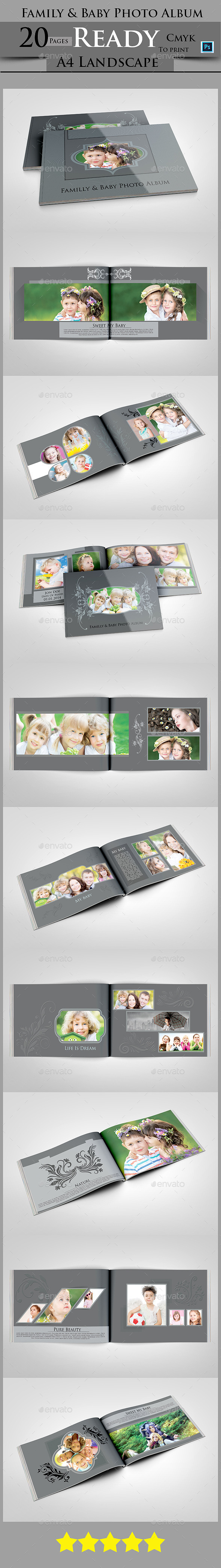 GraphicRiver Family & Baby Photo Album 9105077