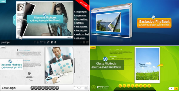 CodeCanyon FlipBook Bundle jQuery&pluginWordPress 9105219