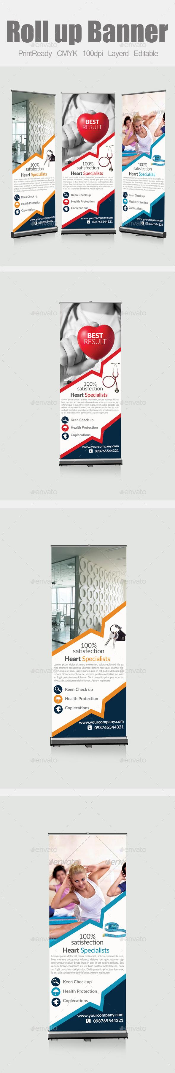 GraphicRiver Multi Purpose Roll Up Banners 9068096
