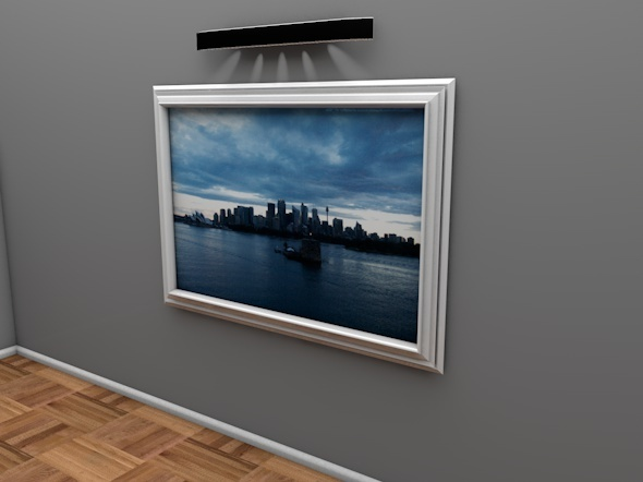 3DOcean Modern Picture Artwork Frame 9105807