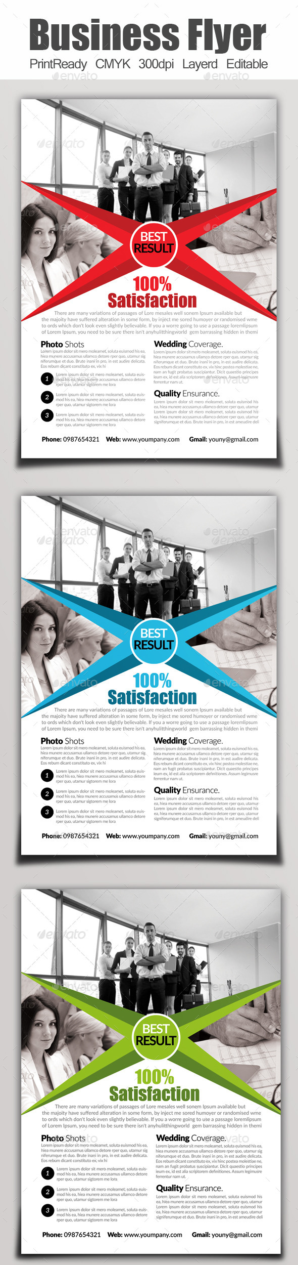GraphicRiver A4 Business Flyer Template 9106304