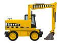 Wheel Excavator  - PhotoDune Item for Sale